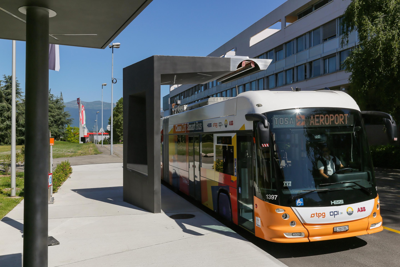 bus électrique EPFL
