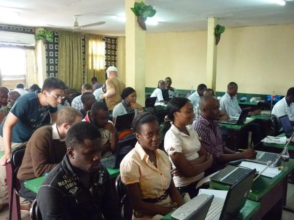 Teaching people in Africa how to program smartphones