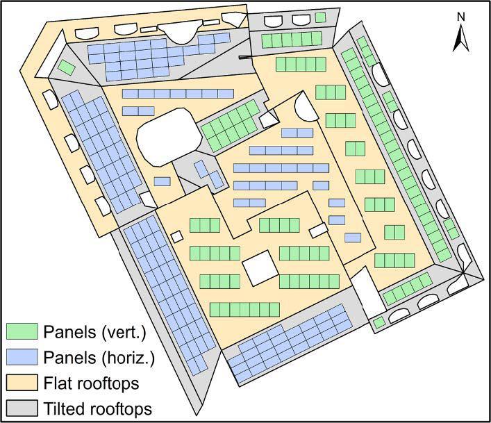 Et si la moitié des toits suisses produisaient de l'électricité?
